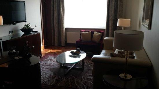 InterContinental Moscow Tverskaya Hotel: гостиная