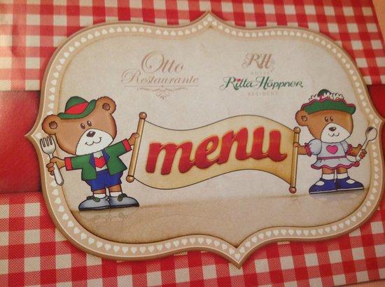 Hotel Ritta Hoppner: MENU KIDS