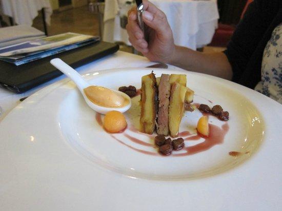Hôtel Château Tilques : The meal