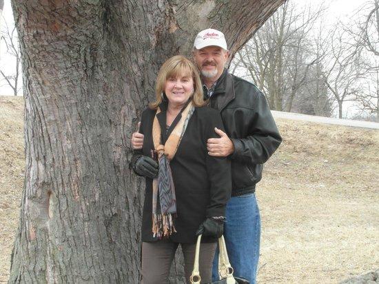 Sterling Inn & Spa: Wayne & Sharon Leis