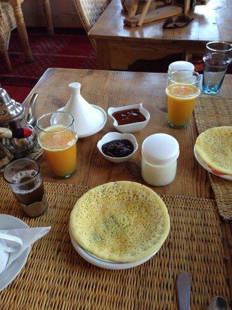 Irocha: Moroccan pancake