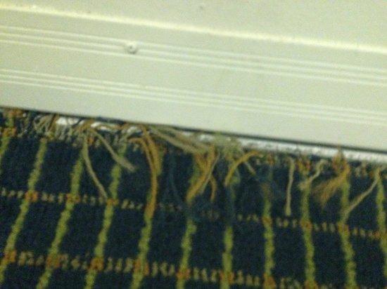 International Palms Resort & Conference Center: Carpet at threshold