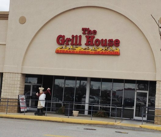 The Grill House: Wonderful Restaurant in Lowe's Shopping Center, North Myrtle Beach, SC