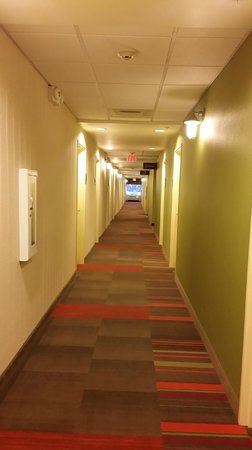 Home2 Suites Fayetteville: Hallway