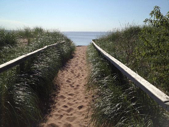 Park Point Beach, Duluth, Minnesota