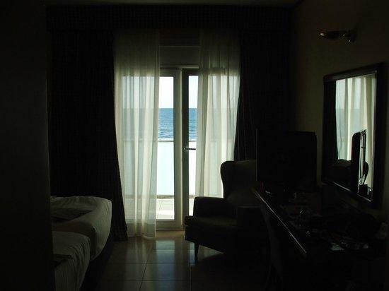 Apartamentos Playafels: vue de la chambre