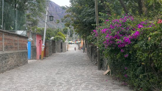 Casa Fernanda Hotel Boutique : Road from hotel to town