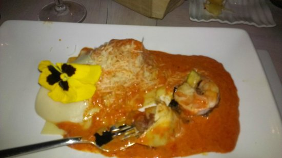 Casa Fernanda Hotel Boutique: Shrimp Ravioli