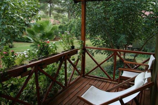 Kibala Hotel: Balkon