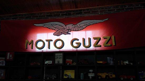 Seaba Station Motorcycle Museum: Signage