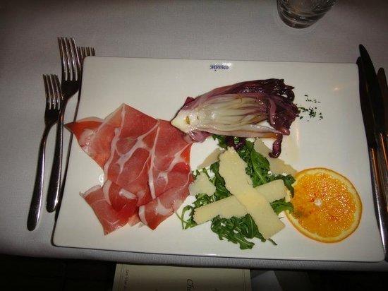 Chalet Al Lago: Блюдо