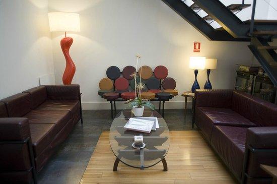 Hotel El Escondite del Viento: Salón