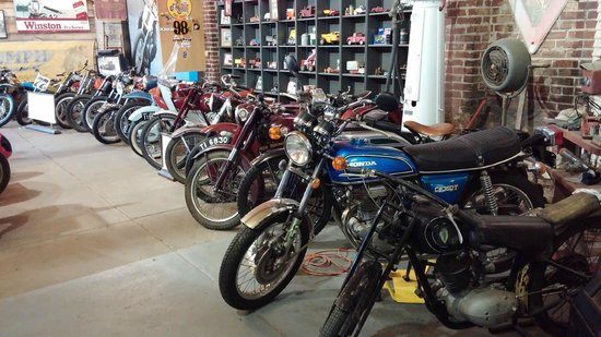 Seaba Station Motorcycle Museum : Cycles