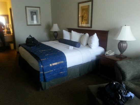 BEST WESTERN Quail Hollow Inn: Kind Bed
