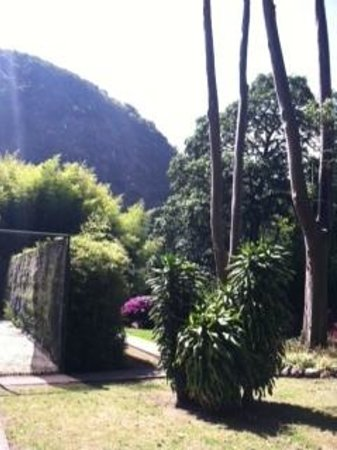 Hotel Bambito Resort: Tennis court area