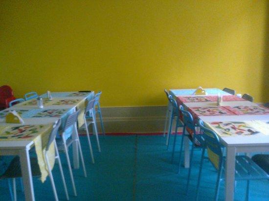 CoolHostel: Área de refeições