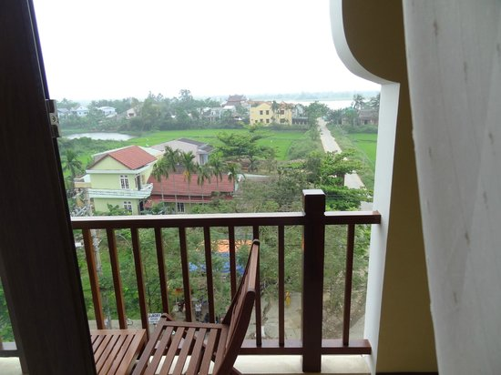 Essence Hoi An Hotel & SPA: View from 5th floor room