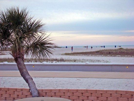 Treasure Island Ocean Club: View to beach