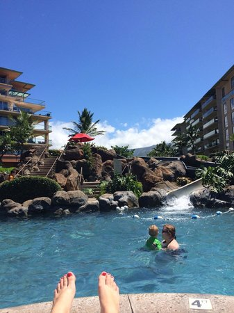 Honua Kai Resort & Spa : Water Slide!
