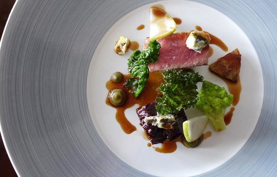 The Cottage in the Wood: Belted Galloway Beef cooked 2 ways