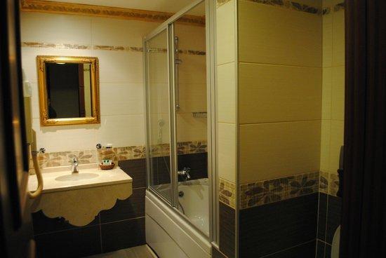 Hotel Sapphire: Ванная в номере