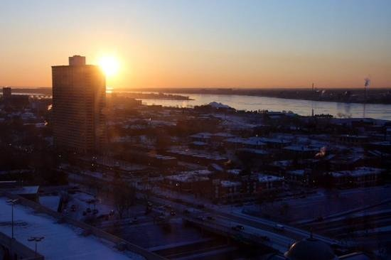 Greektown: levée de soleil, vue de la chambre