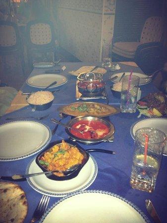 Taste of India : Dinner is served :)