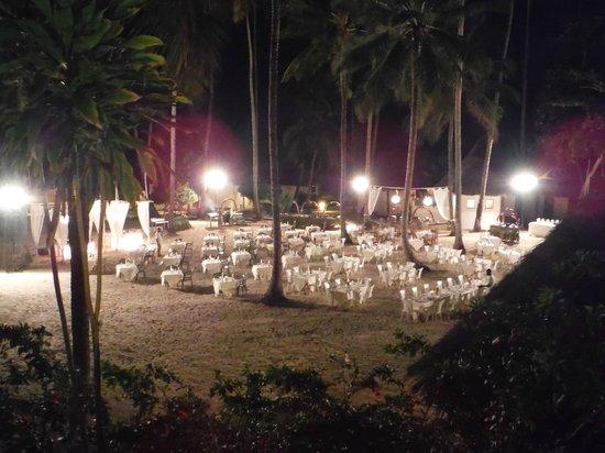 Diamonds Mapenzi Beach: soirée plage