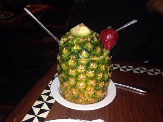 Disney's Polynesian Village Resort: The drinks @ 'Ohana in the Polynesian