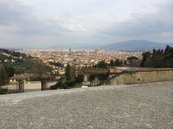Basilica San Miniato al Monte : View from the basilica