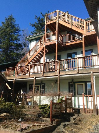 Alaska's Capital Inn Bed and Breakfast: Great views from every room