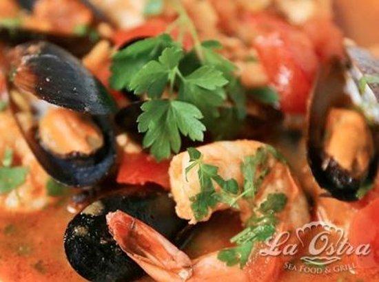 La Ostra Sea Food & Grill: Sopa de Mariscos