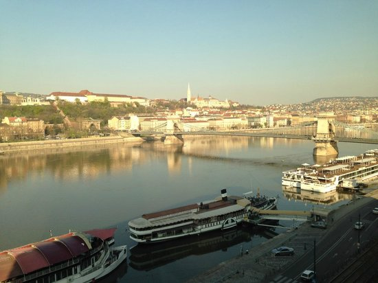 InterContinental Budapest: View from 7th floor room