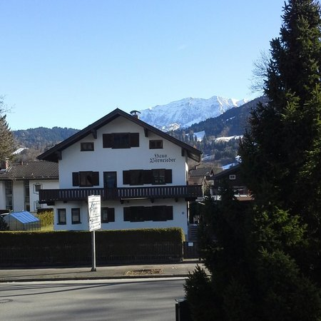Gästehaus Brigitte: from balcony