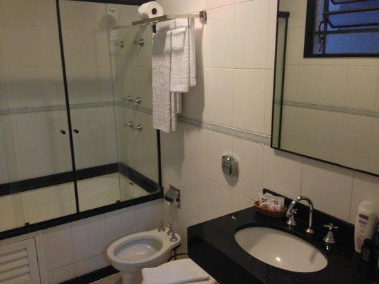 Hotel OK: Toilette