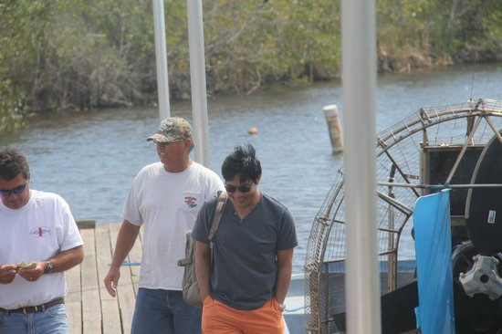 Capt Mitch's - Everglades Private Airboat Tours: Great Guide