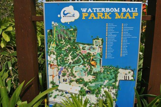 Park Map - Pict... Garden Tours 2017