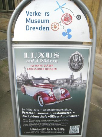 Transport Museum Dresden: Colourful welcome