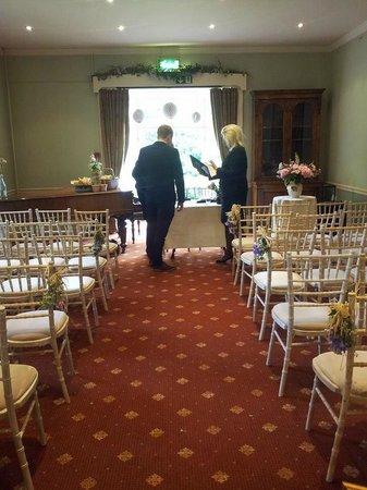 Holne Park House: Ashburton room