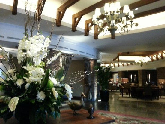 Fota Island Resort : Reception Area