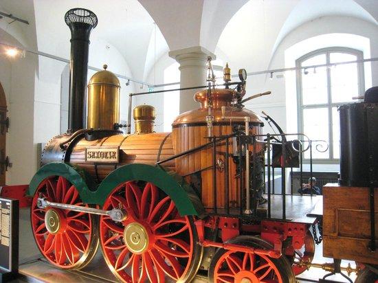 Verkehrsmuseum Dresden: Wonderful steam engine