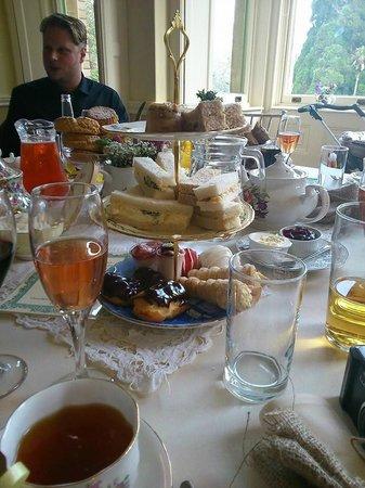 Holne Park House: Afternoon tea