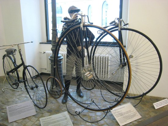 Transport Museum Dresden : Penny-farthhings
