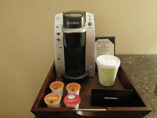 Hotel Metro: cafetera