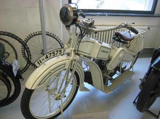 Transport Museum Dresden : Interesting motorcycle
