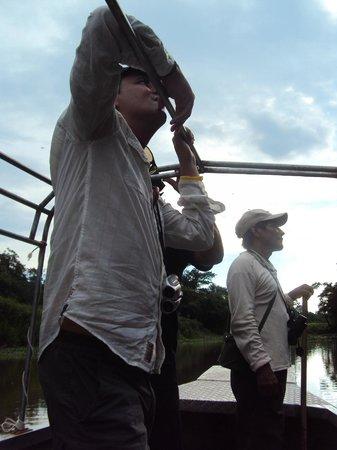 Muyuna Amazon Lodge : observación de fauna