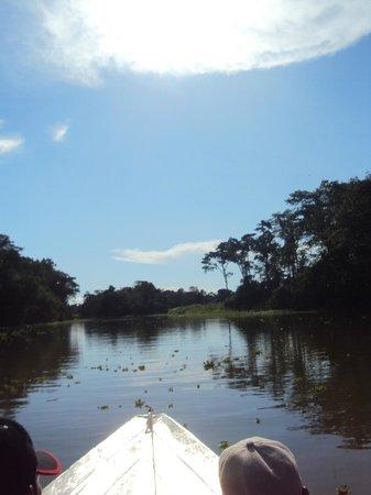 Muyuna Amazon Lodge : trayecto por el rio