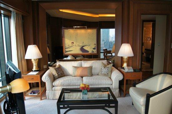 The Peninsula Bangkok: Part f our lounge area