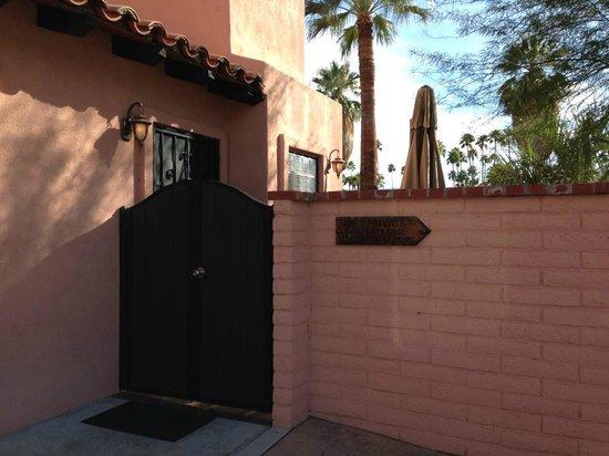 Hotel California : Casita - private entrance / patio