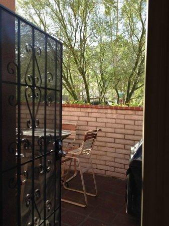 Hotel California : Casita - private patio